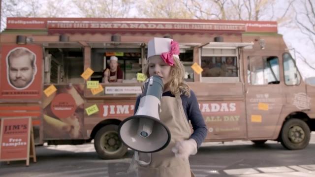 Jim Gaffigan Food Truck (ext.)